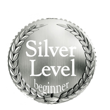Silver Level Flute Lessons Medallion